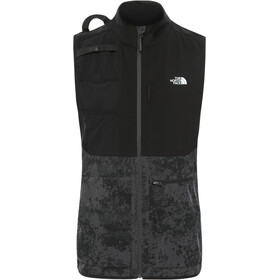 The North Face Varuna Vest Heren, asphalt grey grunge print